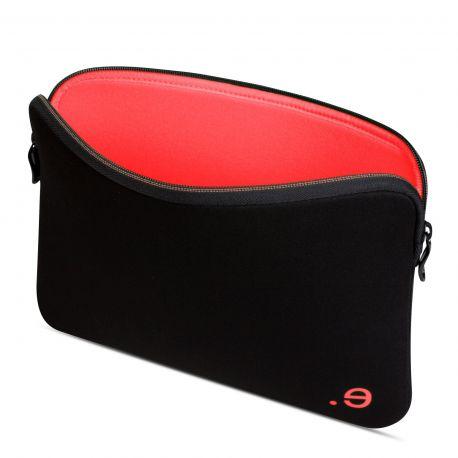 "Funda para Macbook Air 13"" / Macbook Pro Retina 13"" LA robe Black Addicted Strawberry"
