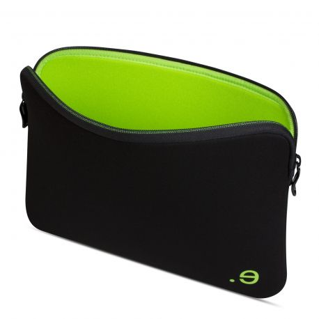 "Funda para Macbook Air 13"" / Macbook Pro Retina 13"" LA robe Black Addict Wasabi"