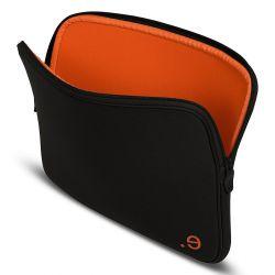 "Funda para Macbook 13"" LA robe Black Addict Pumpkin"